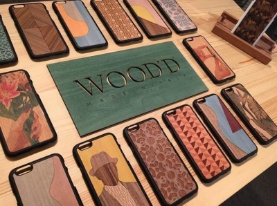 Wood'd - Colored Pois Cover - iPhone 8 / 7 - Cover in Legno